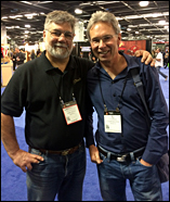 TJ Thompson and Lawrence Berndt at NAMM 2015