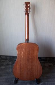 Berndt Guitars Cuban Mahogany D Back
